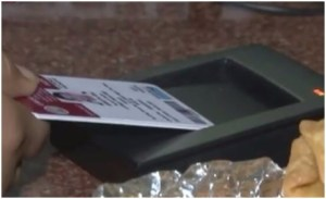This DU college goes Cashless ;digital payments can be done with it's smart ID cards !
