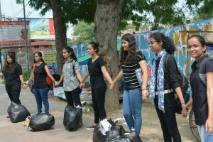 Meet No Poster Party who is on a mission to have Paperless DU Students' Union (DUSU)
