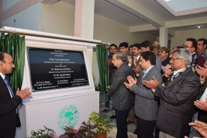 AMU VC inaugurates 3 MW Solar PV Power Plant and Department of Electricity's new block