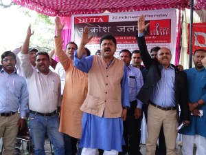 DU teachers organise Aakrosh Jalsa at VC's Office to demand appointments and promotions in Delhi University