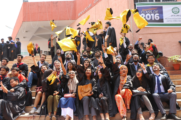Over 4600 students awarded degrees/ diplomas at Jamia Millia Islamia's Annual Convocation