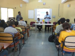 "TISS, Hyderabad Students organizes a Lecture on ""Ambedkar and Nation"""
