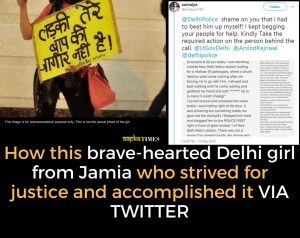 Meet this brave-hearted Delhi girl from Jamia who strived for justice and accomplished it VIA TWITTER