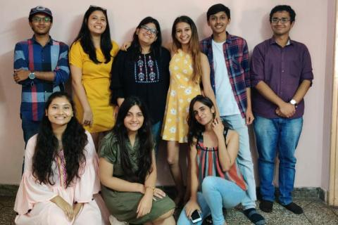 DU Students launch safe space for people battling with mental health issues