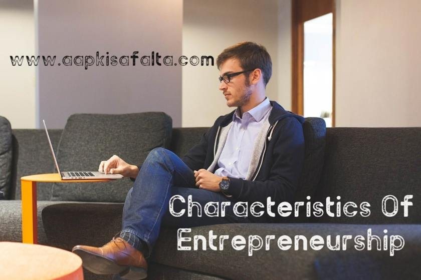 characteristics of entrepreneurship hindi