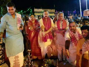 औरंगाबाद के देव मंदिर का सांसद ने किया जीर्णोद्धार, गंगाजल में अर्घ्य देंगे छठव्रती