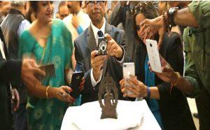 भारत के स्वतंत्रता दिवस पर ब्रिटेन ने लौटाई बिहार से चोरी की गयी बुद्ध की एतिहासिक मूर्ति
