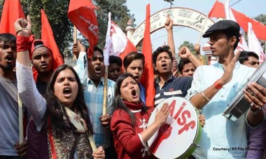 PUSU Election, Patna University, CJAP, AISA, Pappu YAdav, JDU Student, RJD Student, ABVP