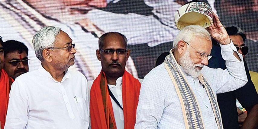 Modi government to Bihar, Nitish oppose modi government decision
