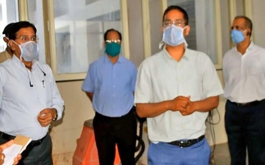 Bihar IAS officer Test Positive