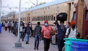 बिहार में प्रवासी मजदूरों के लिए चलाई जा रही है मुफ्त अंतर जिला श्रमिक ट्रेन