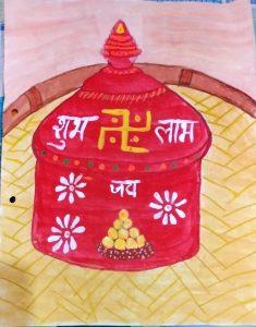 Sindhora art by Tanisha