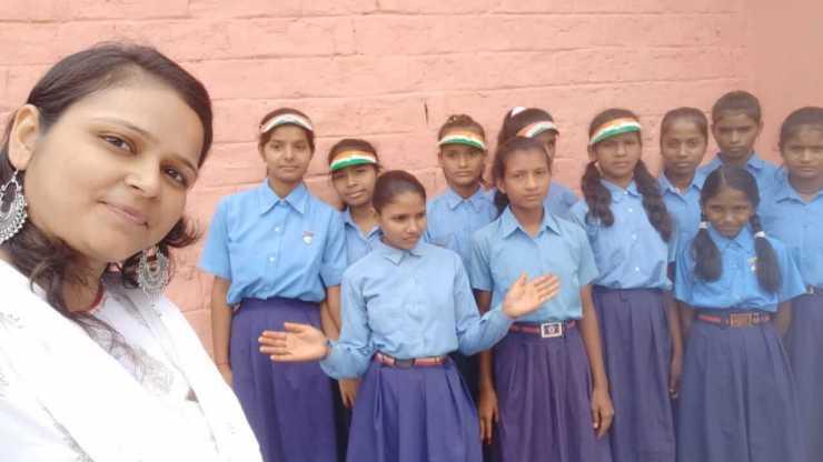 neha nupur government school teacher