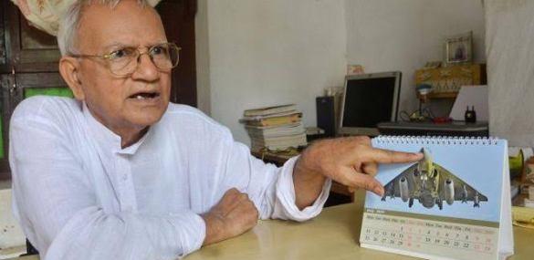 तेजस लड़ाकू विमान के नीव रखने वाले दरभंगा के मानस बिहारी वर्मा का निधन