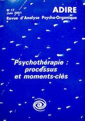 N° 17 – PSYCHOTHÉRAPIE : Processus et moments-clés (2001)