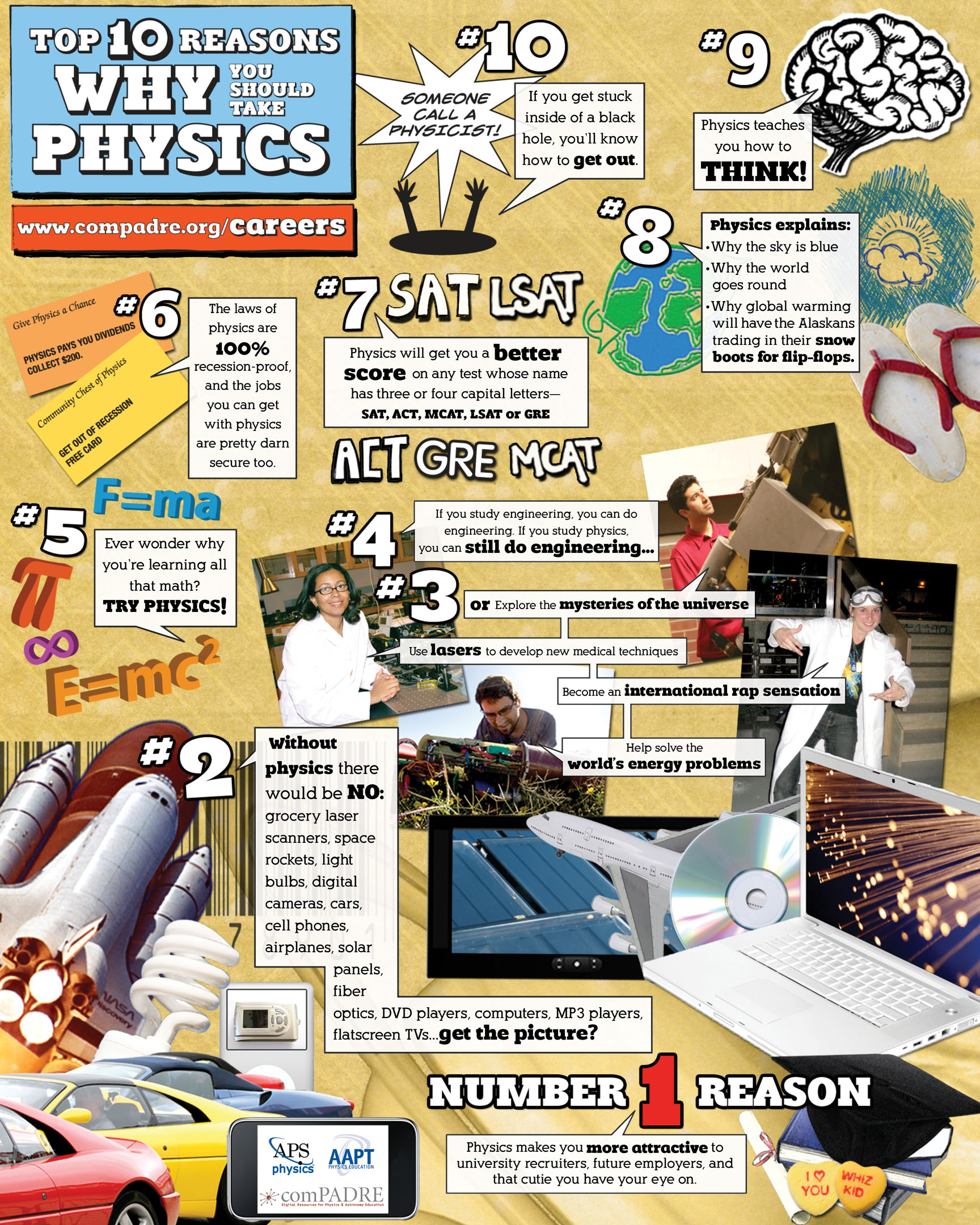 The Blog Of Phyz More Posters To Promote Physics Enrollment