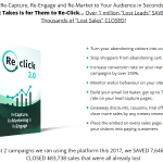 RECLICK 2.0 APP SOFTWARE BY PRECIOUS NGWU – BEST UPSELL #1 OF PREMIUM TRAFFIC HACKING SOFTWARE TO CREATE POWERFUL AND SUPER-PROFITABLE CAMPAIGNS THAT ENGAGE YOUR AUDIENCES ON YOUR WEBSITES, BLOGS, LANDING PAGES, ONLINE STORES TO COLLECT MORE LEADS AND DRIVE MORE TRAFFIC AND SALES