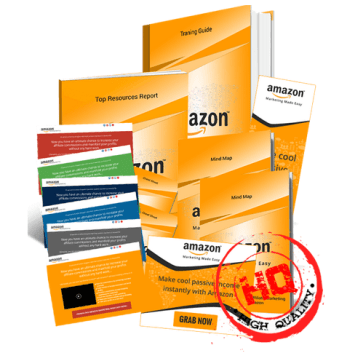 Amazon Marketing Biz in a Box Monster PLR Package by Amit Pareek