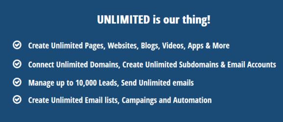BuilderAll Software Internet Marketing Features