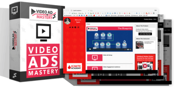 Video Ad Mastery Facebook Training by James Sides Reviews