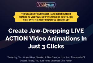 Viddyoze Live Action Pro Software By Joey Xoto Launch