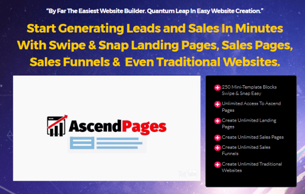 AscendPages Software By Andrew Darius Launch