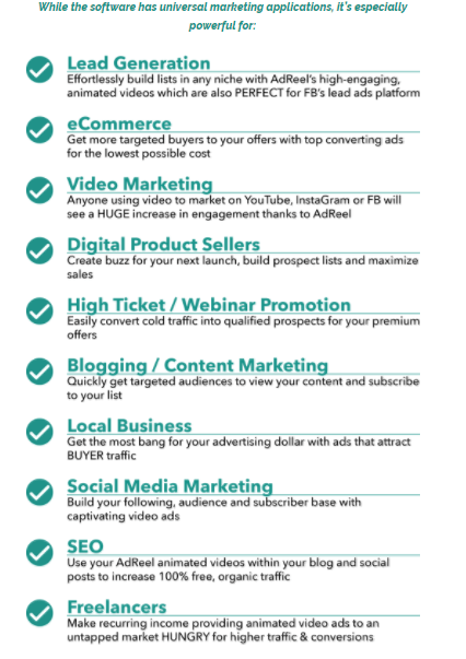 AdReel Pro By Ryan Phillips Benefits