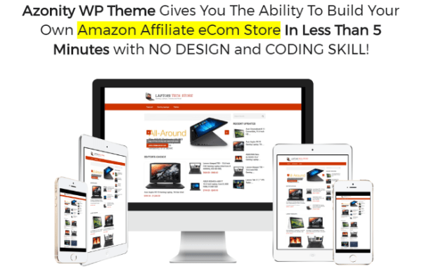 Azonity WP Theme By Bcbiz Download