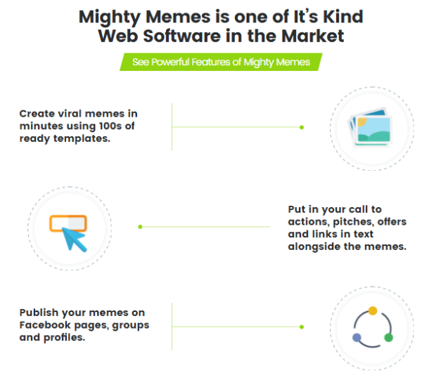 Mighty Memes Software By Cyril Gupta More Features