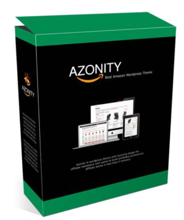 Azonity Wp Theme Developer License By Bcbiz Review
