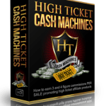 High Ticket Cash Machines By Gary Alach – Best Training Course Affiliate Marketing That Consist Of Step-By-Step Video Training Program That Shows You On How To Make The High Ticket And Mid-Ticket Affiliate Commissions Both Quickly And Easily And Revealed Secrets Affiliate Marketing How To Earn 3 And 4 Figure Commission Per Sale On Autopilot