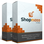 Shopmozo Pro Edition By Amit Pareek – Best Premium Upgrade OTO #1 Of Shopmozo Affiliate With Upgrade Unlock The Pro Features To Create Even More Elegant & Unique Stores, Add High Paying Products From Aliexpress & Ebay On Autopilot & Get 300% Increase In Your Profits