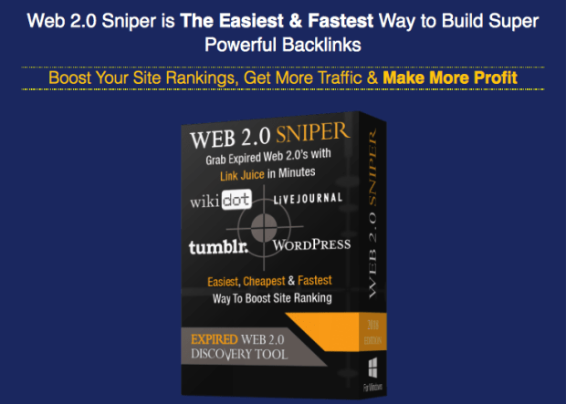 Web 2.0 Sniper V2 By Jane Williams Review