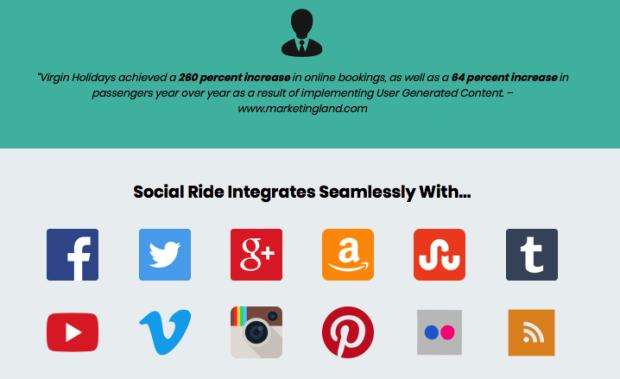 Social Ride Software By Sam Robinson Demo