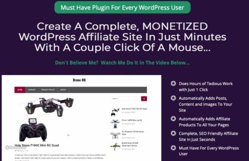 AffiliRocket Plugin Software By Kurt Chrisler Review : All