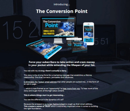 The Conversion Point System Review + OTO 1, OTO 2 - TWO OTO >>>
