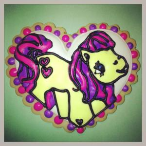 My Little Pony Cookie