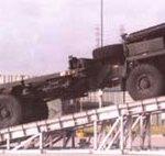 military vehicle service ramp