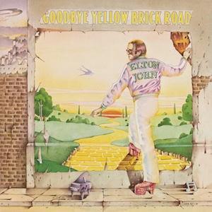 Goodbye Yellow Brick Road album cover