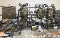 Unused- Capna Systems Complete Cannabis/Hemp Cryogenic Ethanol Extraction Line
