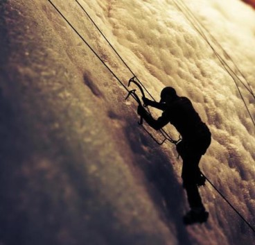 160 lb. Jon Dale Ice Climbing