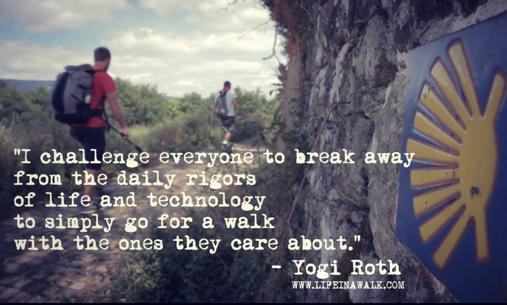 Life in a Walk with Yogi Roth
