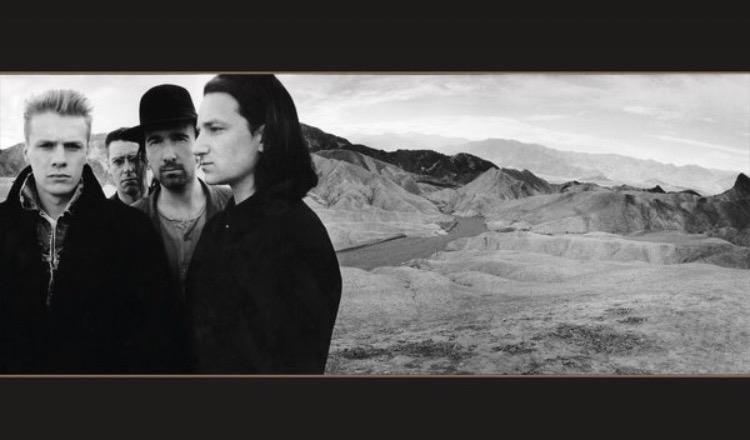 U2 Joshua Tree album cover