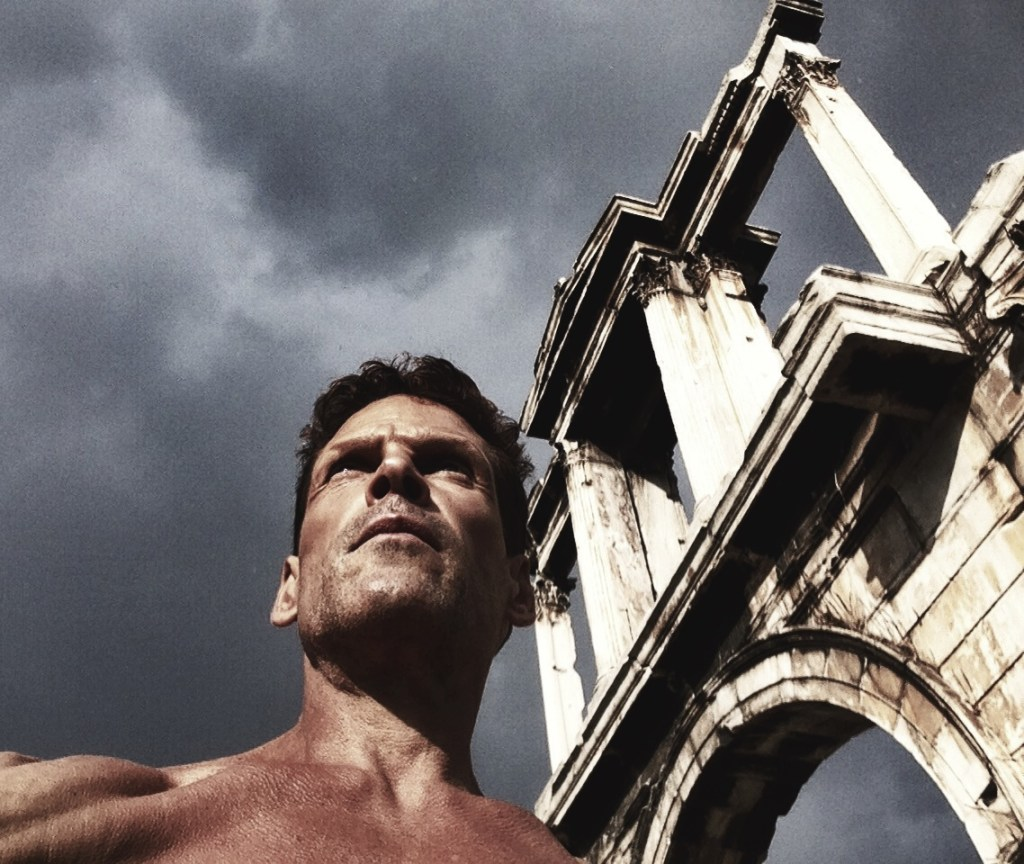 Dean Karnazes at the Acropolis