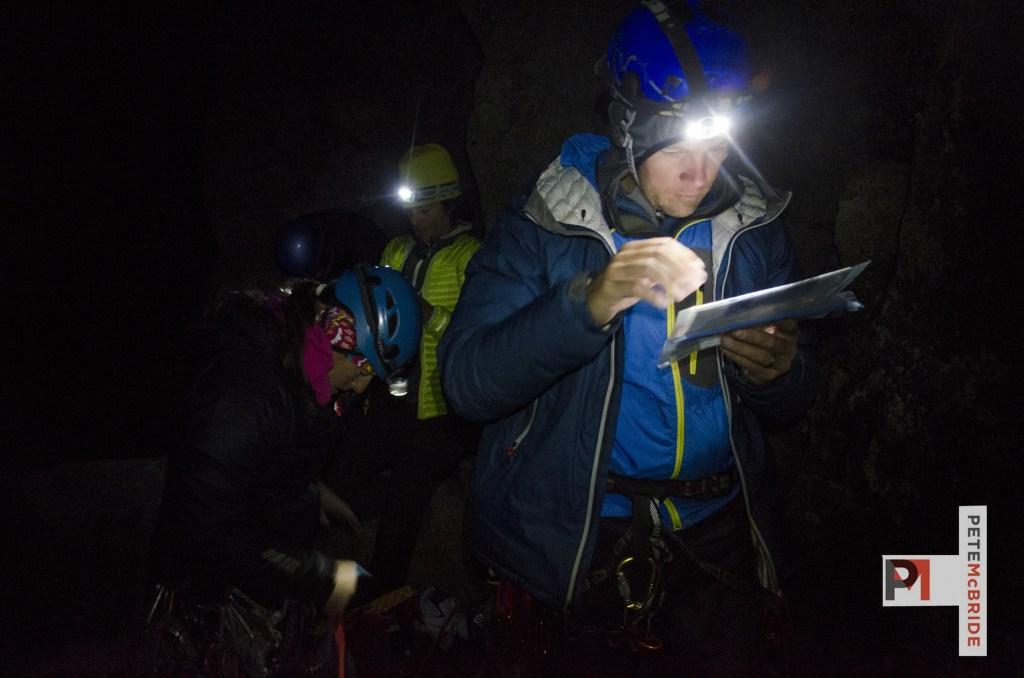 Jake Norton on Mount Kenya