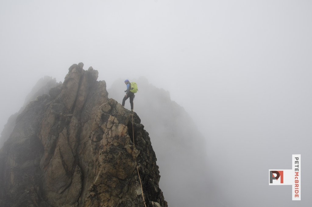 Jake on Mt Kenya