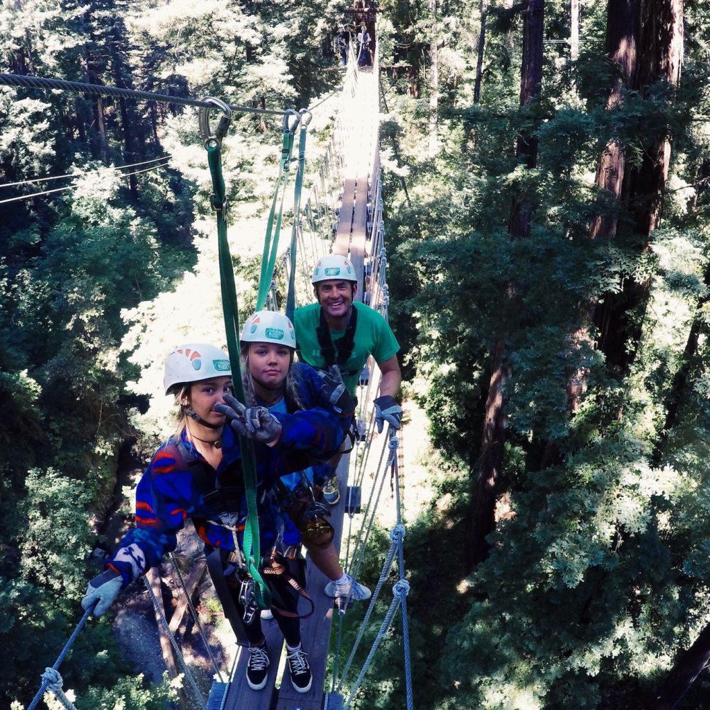 Zipline tour at Mount Hermon Adventures