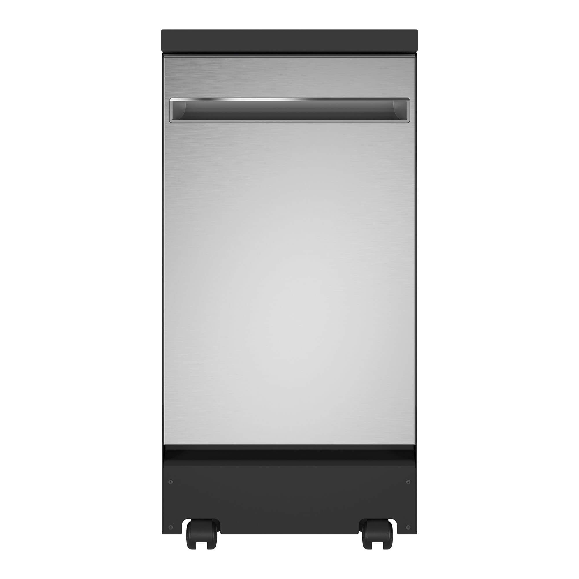 Rent To Own Ge Appliances 18 Portable Dishwasher Stainless At Aaron S Today