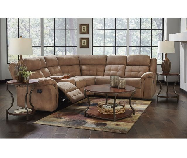 Piece Cobalt Reclining Sectional Living Room Collection
