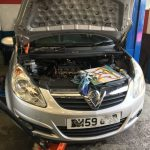 Vauxhall Corsa Oil In Coolant And Timing Chain Noisy Aarons Autos